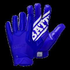 Battle Hybrid Youth Football Receiver Gloves