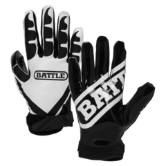 Battle Ultra-Stick Youth Football Receiver Gloves