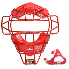 All-Star Traditional Mask Scarlet Red Leather