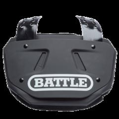 Battle Adult Football Black Back Plate