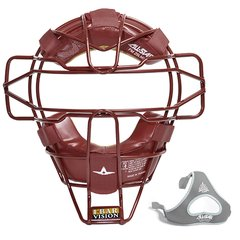 All-Star Traditional Mask Maroon Leather