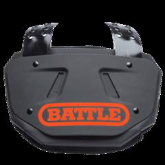 Battle Limited Edition Adult Football Orange Back Plate