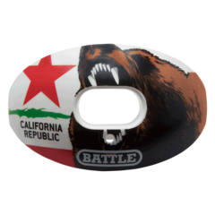 Battle Oxygen California Flag Football Mouthguard