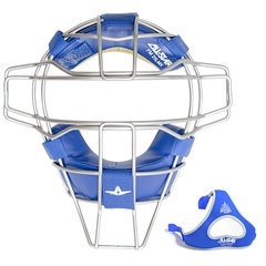 All-Star Traditional Mask Royal Blue Leather Titanium
