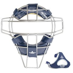 All-Star Traditional Mask Navy Leather Titanium