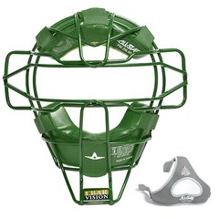 All-Star Traditional Mask Dark Green Leather