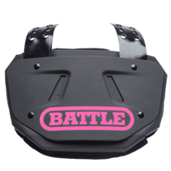 Battle Youth Football Back Plate Decals