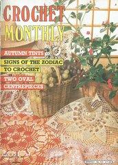 Crochet Monthly magazine no 101 vintage magazine