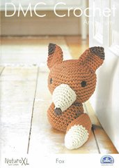 DMC Fox toy crochet pattern amigurumi