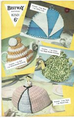 Bestway 2501 tea cosy vintage knitting and crochet pattern