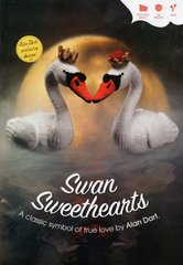 Alan Dart Swan Sweethearts toy knitting pattern
