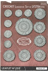 Twilleys 253 doily vintage crochet pattern