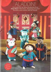 Alan Dart Aladdin mice toy knitting pattern