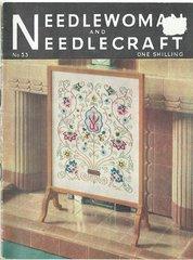 Needlewoman needlecraft no 53 vintage knitting crochet sewing magazine