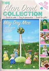Alan Dart May Day Mice A5 booklet toy knitting pattern