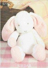 Sirdar 1243 Flopsy the Bunny toy knitting pattern