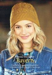 The Knitter Bavaria hat ladies knitting pattern