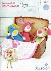 Stylecraft 9215 toy crochet pattern