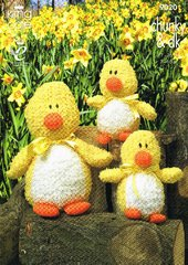 King Cole 9020 ducks toy knitting pattern