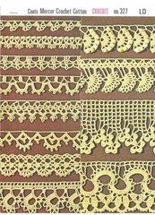Coats 327 edgings vintage crochet pattern