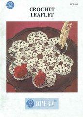 Coats 010 doily vintage crochet pattern
