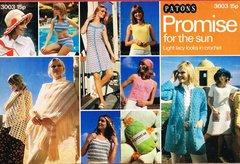 Patons 3003 ladies crochet pattern vintage booklet
