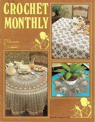 Crochet Monthly magazine no 32 vintage magazine