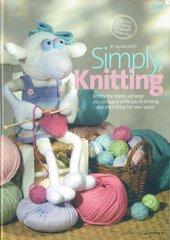 Alan Dart Simply Knitting sheep toy knitting pattern