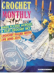 Crochet Monthly magazine no 114 vintage magazine