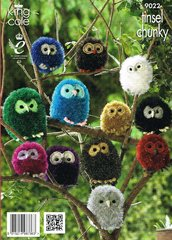 King Cole 9022 owl toy knitting pattern