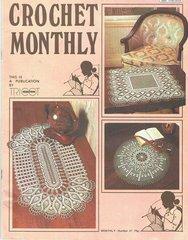 Crochet Monthly magazine no 37 vintage magazine