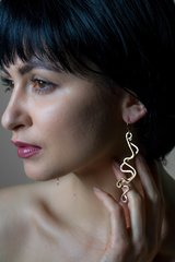 Abstract Contemporary Earrings
