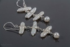 Freshwater Pearls Drop Earrings