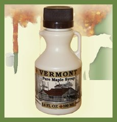 3.4 OZ Jug Pure Vermont Maple Syrup