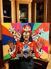 World Wide Funk Canvas 16x20