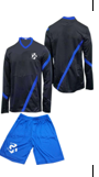 GK Soccer Set: Full Sleeve Shirt+Short