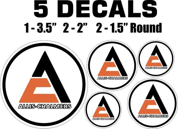 Allis Chalmers Decal Kits : Allis chalmers decals nicer nicerdecals