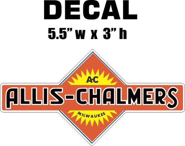 Allis Chalmers Decal Kits : Allis chalmers farmall nicer decals nicerdecals corvette