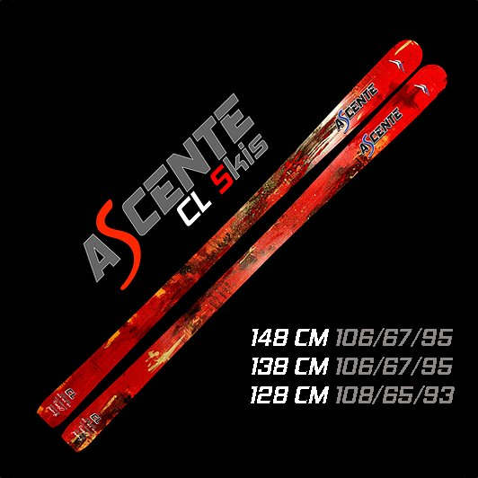 Ascente CL Junior Mogul Skis