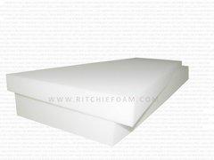 """4""""T x 24""""W x 80""""L (1850) Extra Firm Seat Cushions - High Density Foam"""