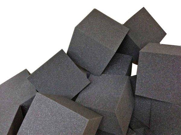 5 Quot X5 Quot X5 Quot Gymnastic Pit Foam Cubes Blocks 250 Pcs Charcoal