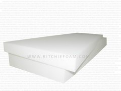 "6"" x 24"" x 80"" (1850) EXTRA FIRM Seat Cushion - High Density Foam"