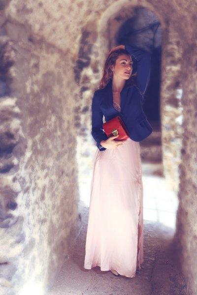 Serene Rose Mini Shoulder Bag