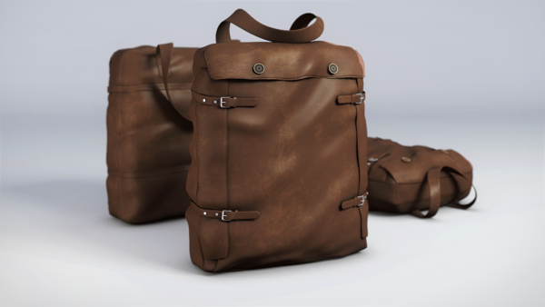 Townley-Bertie Duffle Bag Brown