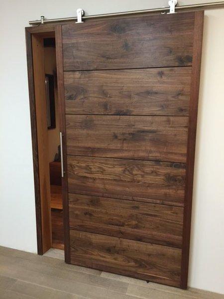 Sliding Wood Doors   Crow River Creations