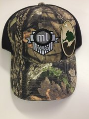 Camouflage Cap with Air Mesh Back ml750