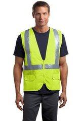 ANSI 107 Class 2 Mesh Back Safety Vest