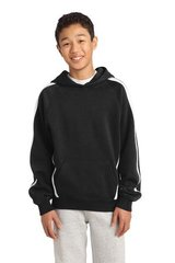Sport-Tek® Youth Sleeve Stripe Pullover Hooded Sweatshirt KG