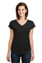Anvil® Ladies Tri-Blend V-Neck Tee ML750