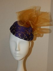 Kate Style Purple and gold hat